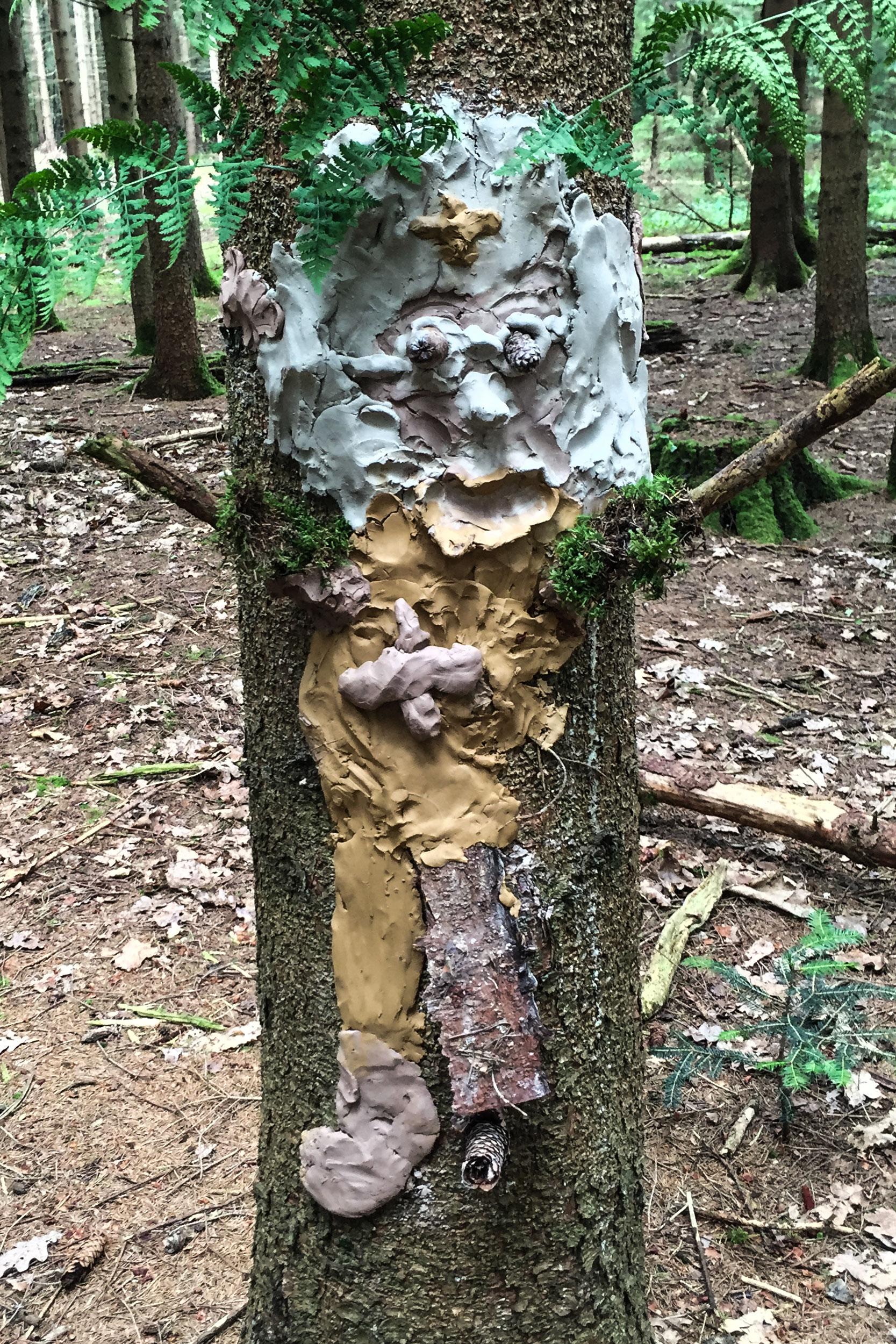 Waldgeister bekommen ein Gesicht - DasKreativDasKreativ